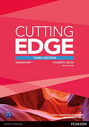 Cutting Edge Third Edition Elementary Students' Book with DVD-ROM
