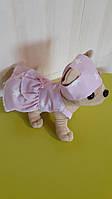 Розовое платье и панамка для собачки Чи Чи Лав.
