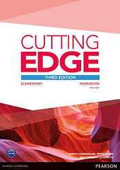 Cutting Edge Third Edition Elementary Workbook and Online Audio with Key