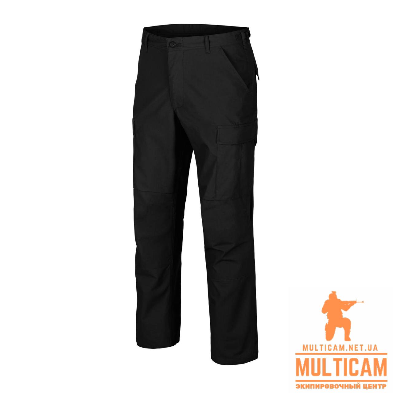 Брюки Helikon-Tex® BDU Pants - PolyCotton Ripstop - Black