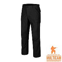 Брюки Helikon-Tex® BDU Pants - PolyCotton Ripstop - Black, фото 1