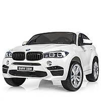 Двухместный детский электромобиль BMW JJ 2168EBLR-1 белый