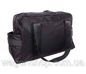 Стильная дорожная сумка D8071BLACK