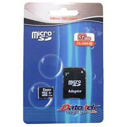 Карта памяти Dato MicroSD Class 10 32GB
