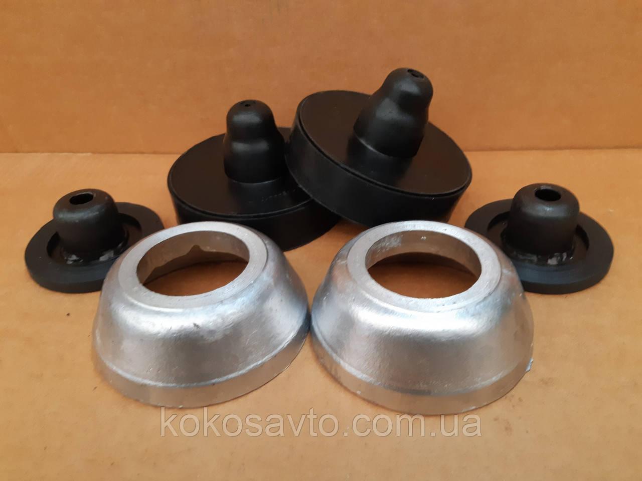Проставки Шкода Фабія Skoda Fabia для збільшення кліренсу комплект зад і перед висота 20-30мм