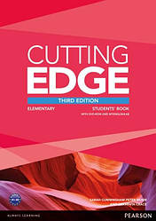 Cutting Edge Third Edition Elementary Students' Book with DVD-ROM and MyLab Access