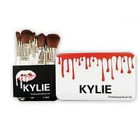 Набор профессиональный кисти для макияжа Kylie Jenner Make-up brush set 12 шт, фото 2