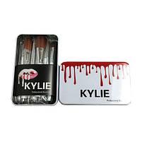 Набор профессиональный кисти для макияжа Kylie Jenner Make-up brush set 12 шт, фото 3