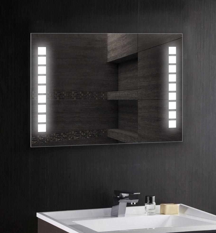 Дзеркало для ванної. Дзеркало з LED підсвічуванням. Дзеркала для ванної з підсвічуванням. Дзеркало 1000х800 мм