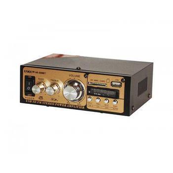 Усилитель звука интегральный Bluetooth UKC AK-699BT MP3 FM, с пультом