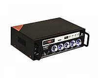 Усилитель звука Bluetooth караоке UKC SN-838BT, фото 2