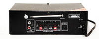 Усилитель звука Bluetooth караоке UKC SN-838BT, фото 3