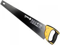 Ножовка по дереву 500 мм 7TPI, тефлоновое покрытие VOREL 28387