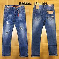 Джинсовые брюки для мальчиков оптом Grace, 134-164 рр, фото 1