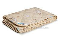 Одеяло детское демисезонное шерстяное в бязи Руно бежевое 105х140 см
