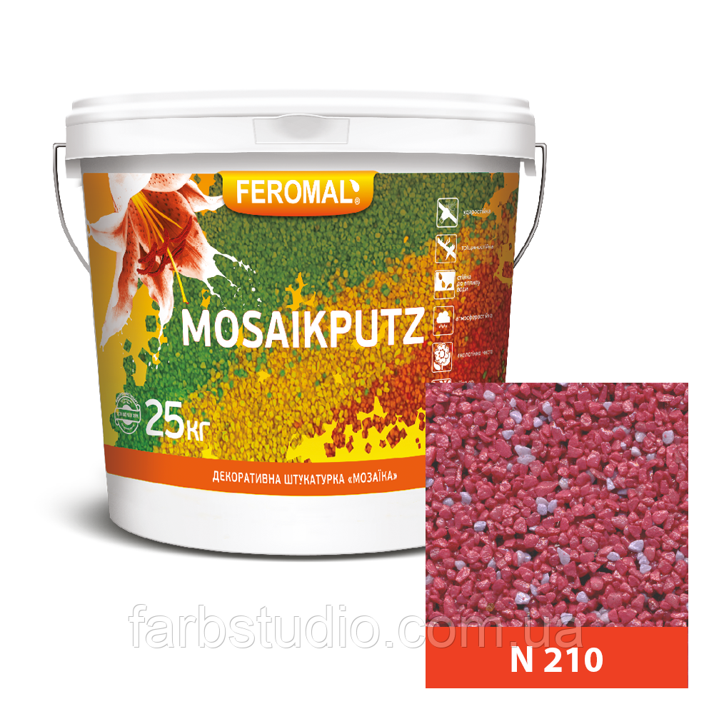 FEROMAL 33 Mosaikputz N 210 – 25 кг
