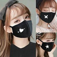 Маска на лицо против пыли пылезащитная повязка K- pop BTS аниме косплей Хеллоуїн хеллоуин карнавальная маска