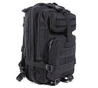 Рюкзак военный тактический штурмовой с USB Спартак Molle Assault 36L Black