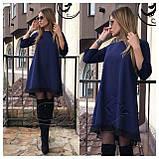 """Асимметричное платье большого размера  """"Emma""""  Батал, фото 2"""