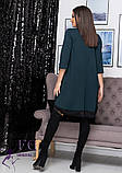 """Асимметричное платье большого размера  """"Emma""""  Батал, фото 6"""