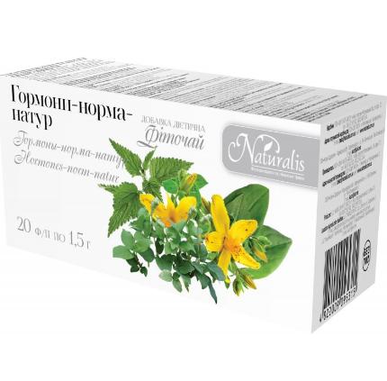 Для нормализации гормонального фона Гармоны-Норма-Натур, 20 шт по 1.5 г