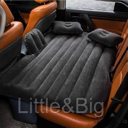 Матрас в машину на заднее сиденье Черный (022)