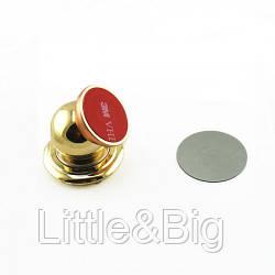 Держатель для смартфона на торпеду магнитный, золото  (EW029)