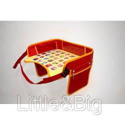 Детский столик для автокресла, красный  (EW056)