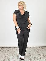 Женская блузка NadiN 1501/1 Черная 54 р (1501_1_54)