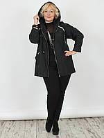 Женская куртка NadiN 1461/1 Черная 58 р (1461_1_58)