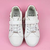 Белые кеды слипоны на девочку фабрика Том.м размер 33, фото 3