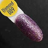Гель-лак Gelix DIAMOND №9 - фіолетовий .8мл, фото 2