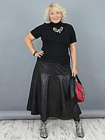 Женская юбка NadiN 1537/1 58 р Черная (1537_1_58)