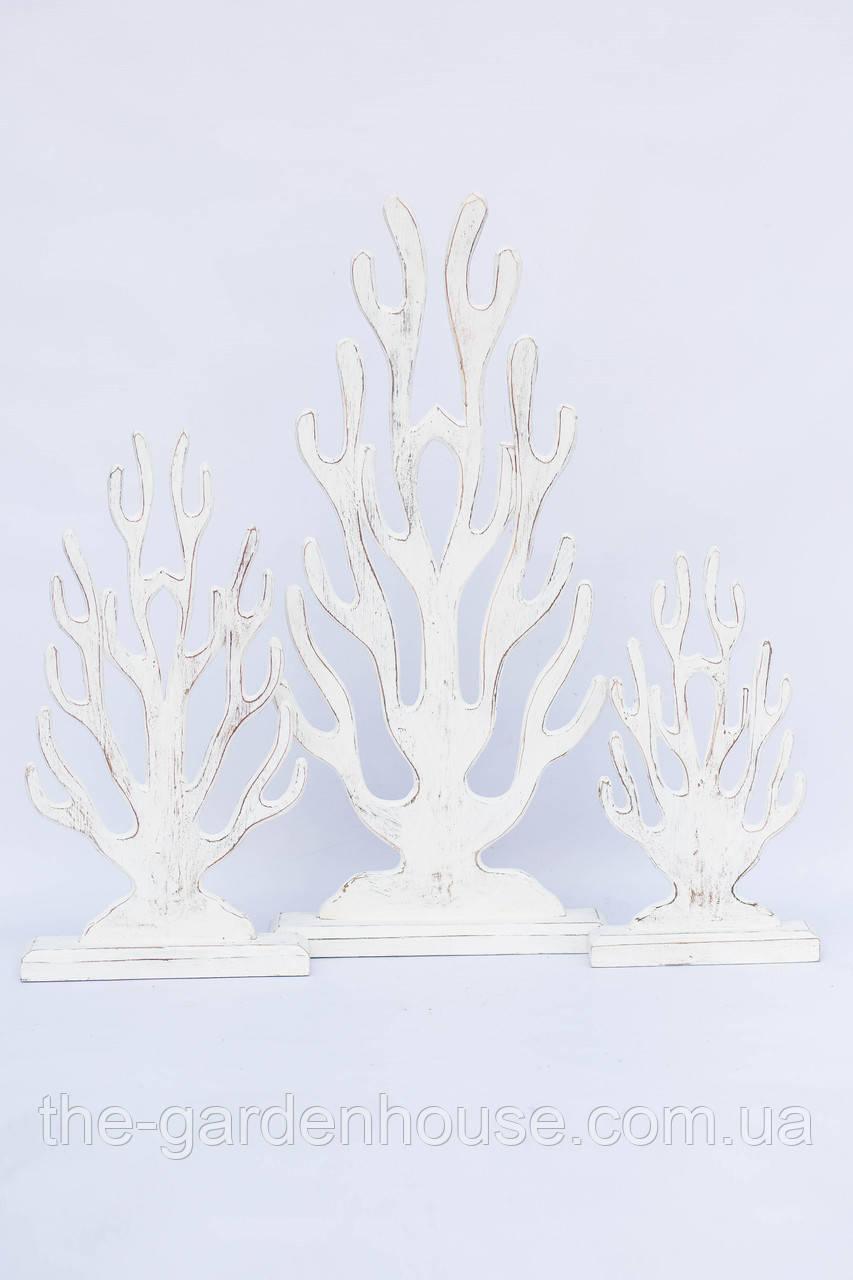 Декоративні корали з дерева (65, 45, 35 см)