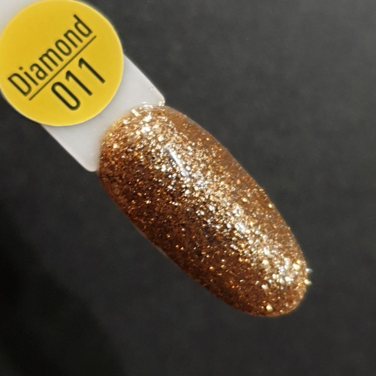 Гель-лак Gelix DIAMOND №11 - золото .8мл