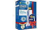 Зубная щетка ORAL-B Vitality 3D White (D12.513W) (+ 2 3D-белых наконечника)