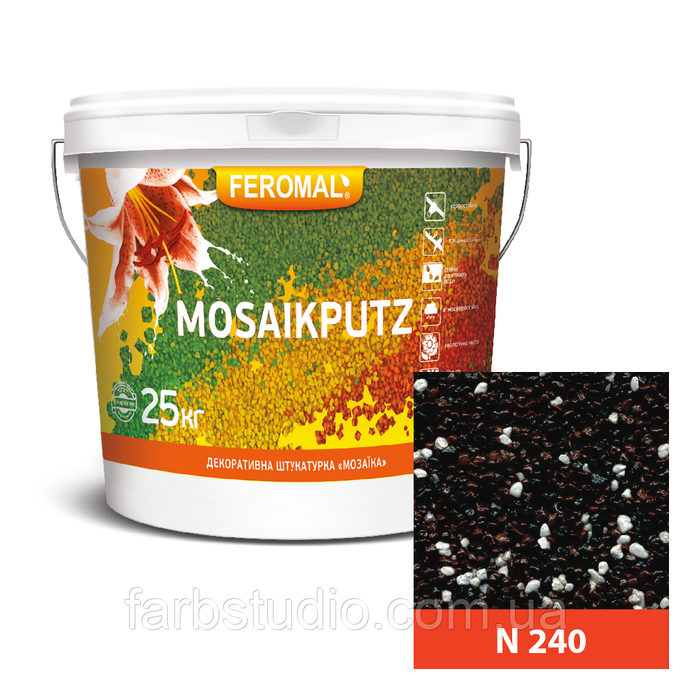FEROMAL 33 Mosaikputz N 240 – 25 кг