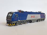 MTC модель 6ти осного китайского электровоза Bombardier серии HX3B,масштаба 1/87,H0, фото 1