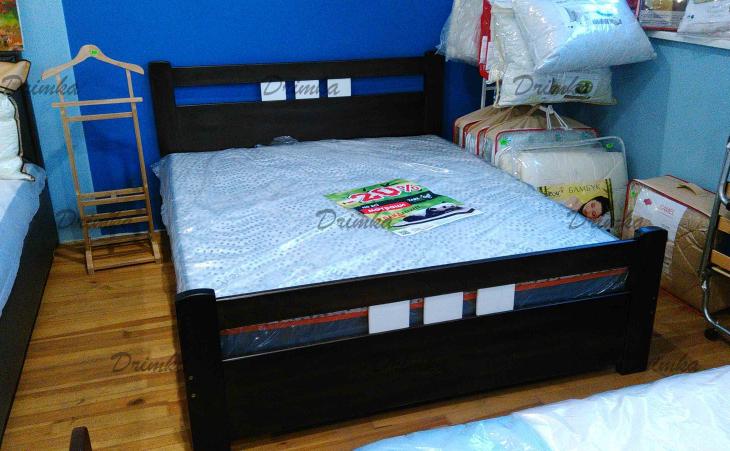 Кровать Геракл из массива бука . ТМ Дримка