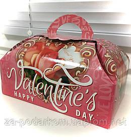 """Солодкий подарунок дівчині в оригінальній коробці """"Скриня Валентинка"""""""