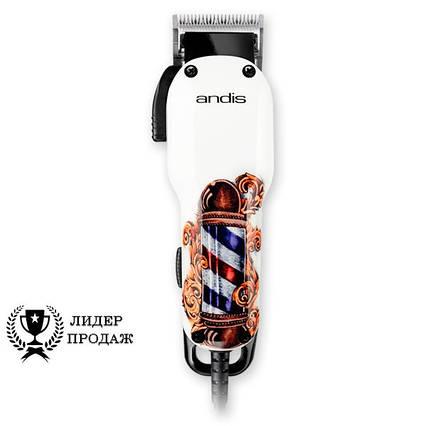 Машинка для стрижки волосся Andis Fade Limited Edition Barber Pole AN 66725