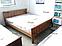 Кровать Жасмин из массива бука 160х190 см. ТМ Дримка, фото 4