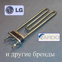 ТЕН 1900W / L=185мм для пральної машини LG, Ardo та інших брендів (є отвір / бурт)