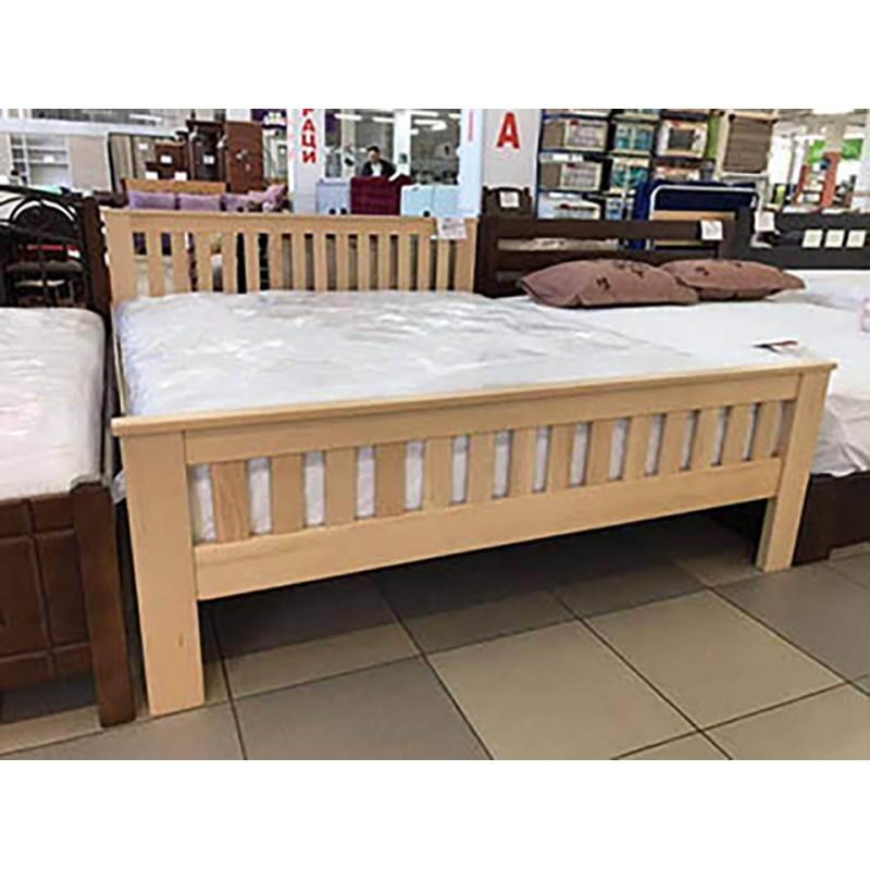 Кровать Жасмин из массива бука 160х190 см. ТМ Дримка