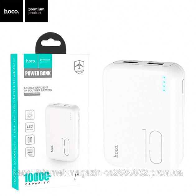Портативное зарядное Power Bank 10000 mah Hoco J38