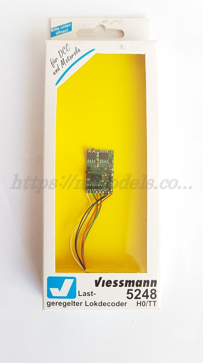 Viessmann 5248 Локомотивный декодер 8-pin для парозов,тепловозов,электровозов масштаба 1/87,H0