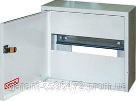 Шкаф распределительный e.mbox.RN-6-P-Z мет. навесной, 6 мод. c замком, 215х150х125 мм