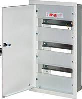 Шкаф распределительный e.mbox.RP-36 мет. встраиваемый, 36 мод. 480х255х125 мм