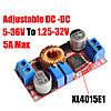 Понижающий стабилизатор напряжения и тока 6-38В - 1.25-36В, 0-5А, XL4015 DC, фото 2