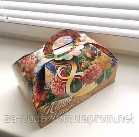 """Солодкий подарунок в оригінальній коробці """"Скриня Жіночий день"""""""